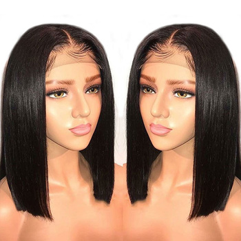 High Temperature Heat Resistant Fiber Synthetic Lace Front Wig in Stock