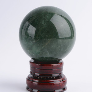 Wholesale Natural green Strawberry Quartz Crystal Ball mineral crystals sphere