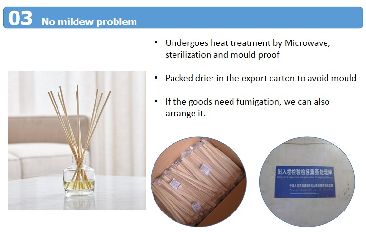 Supply Reed Diffuser Bottle And Natural Rattan Stick