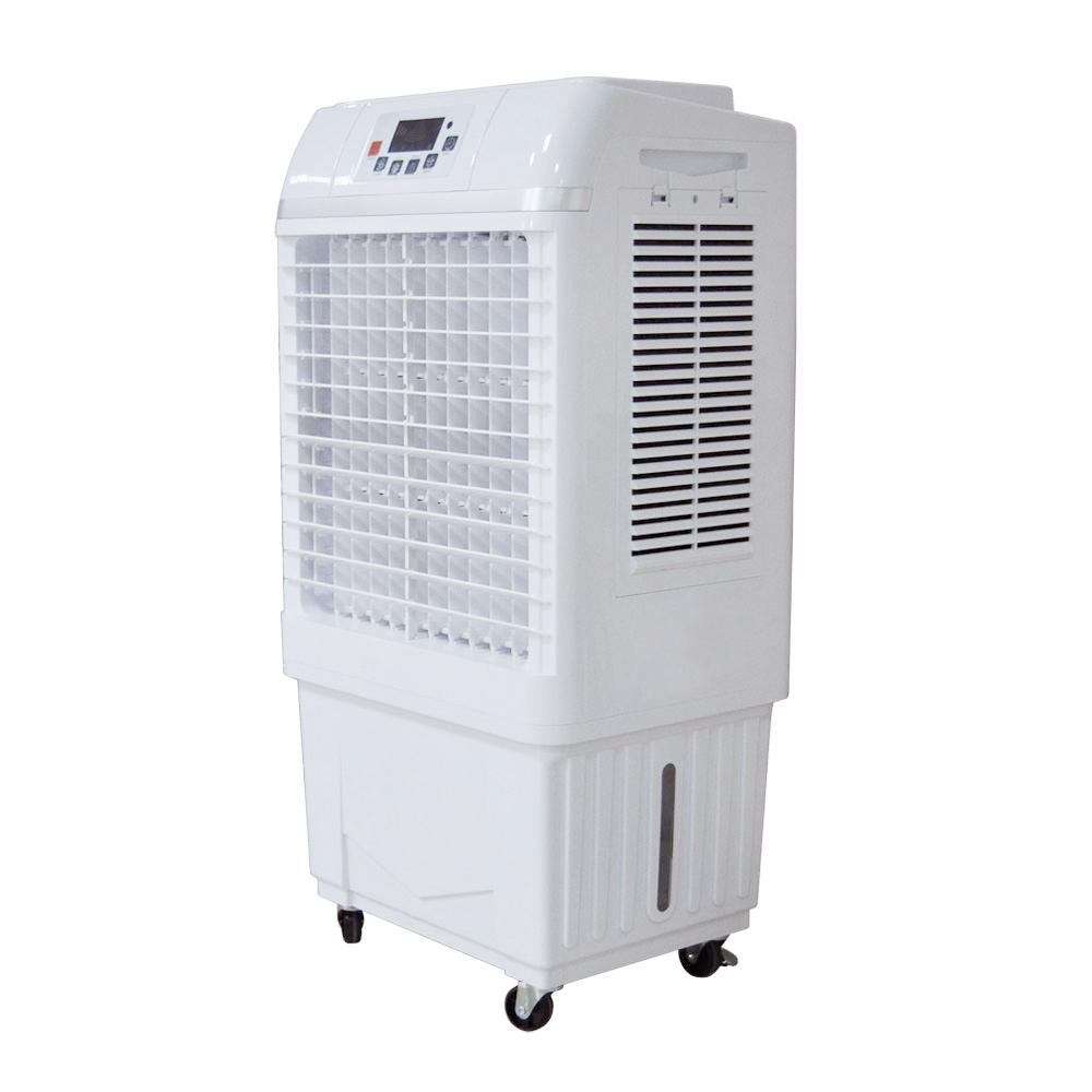 최신 바닥 서 휴대용 증발 에어컨 공기 냉각기 팬