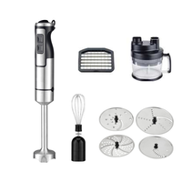 Big power electric stick blender set with parts and cup blendtch 1000 watt hand blender for kitchen ice