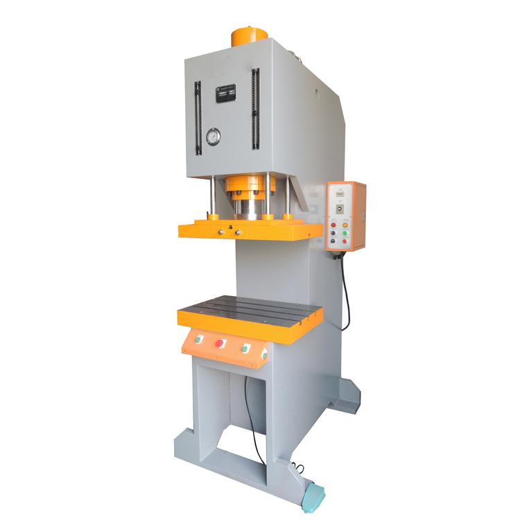 10Ton Tipe C Bingkai Hidrolik Power Press Meninju Mesin