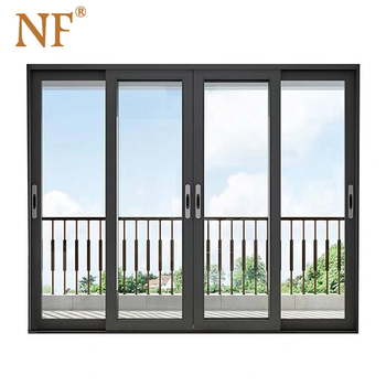 Foshan nf windows and doors for construction real estate