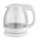 cute design 1.0L Fast fast boiling healthy life small capacity kitchen appliance Glass Electric Water Kettle
