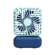USB Перезаряжаемый трехскоростной Настольный вентилятор портативный ультра-тихий электрический USB вентилятор бесшумный мини настольный ве...(Китай)