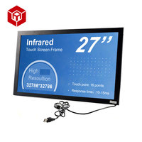 Hot sales 27 Inch Multi Points IR Touch Screen Frame for Touch Monitors All-In-One PC