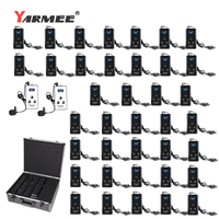YARMEE YT200 portable radio guide system for tour guiding ,church ,simultaneous interpretation Fast shipping