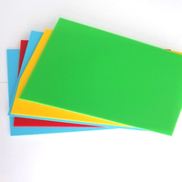 Best Selling Anti Static Colorful Rigid Plastic PP Sheet Rolls For Decoration