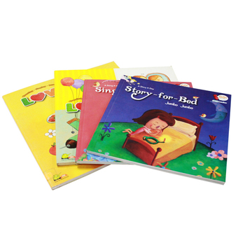 Wholesale custom children softcover book printing manufacturers