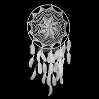 China Manufacturer Creative Dream Catcher Feather Home Furnishing 40cm Dia 98cm Long