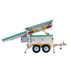 Outdoor Sentry Trailer Electric System Mobile Solar Power Station