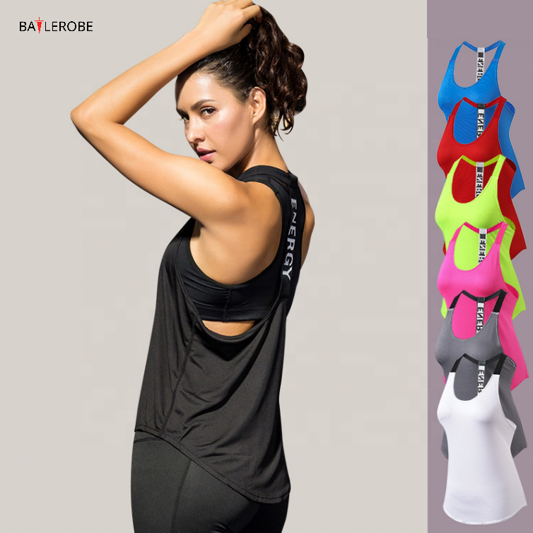 BATTLEROBE Wholesale <strong>women</strong> Sports <strong>tank</strong> <strong>top</strong> woman Quick Dry Comfortable Fitness Gym Sports Sleeveless Wear Clothing crop <strong>Top</strong>