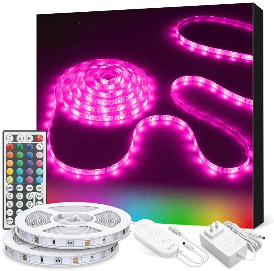 Best quality smart led strip multicolor SMD5050 mobile connected control led smart strip light
