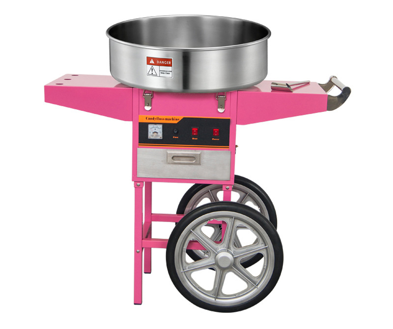 China Manufacturer Commercial Cotton Candy Machine Cart
