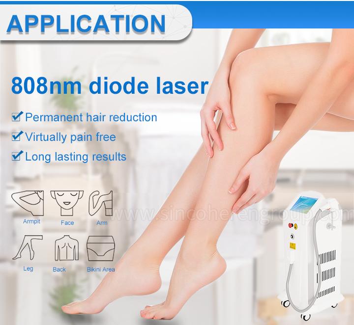 גבוהה באיכות 3 אורך גל דיודה לייזר סופרן xl 808nm לייזר ללא כאבים שיער מכונת הסרת 808nm דיודה לייזר עם ה-FDA רפואי CE