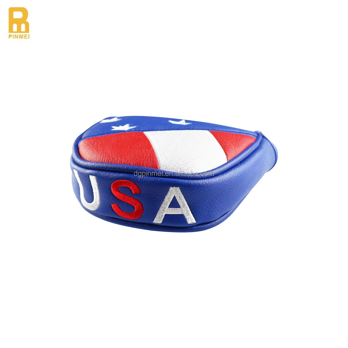 "Factory Price ""USA"" Embroidery Golf Club Head Cover for Putter"