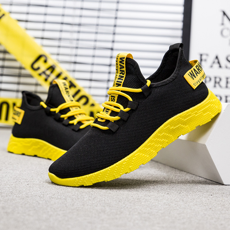 High Quality <strong>Shoes</strong> <strong>Men</strong> Yellow Sneakers Man Casual Sport <strong>Shoes</strong>