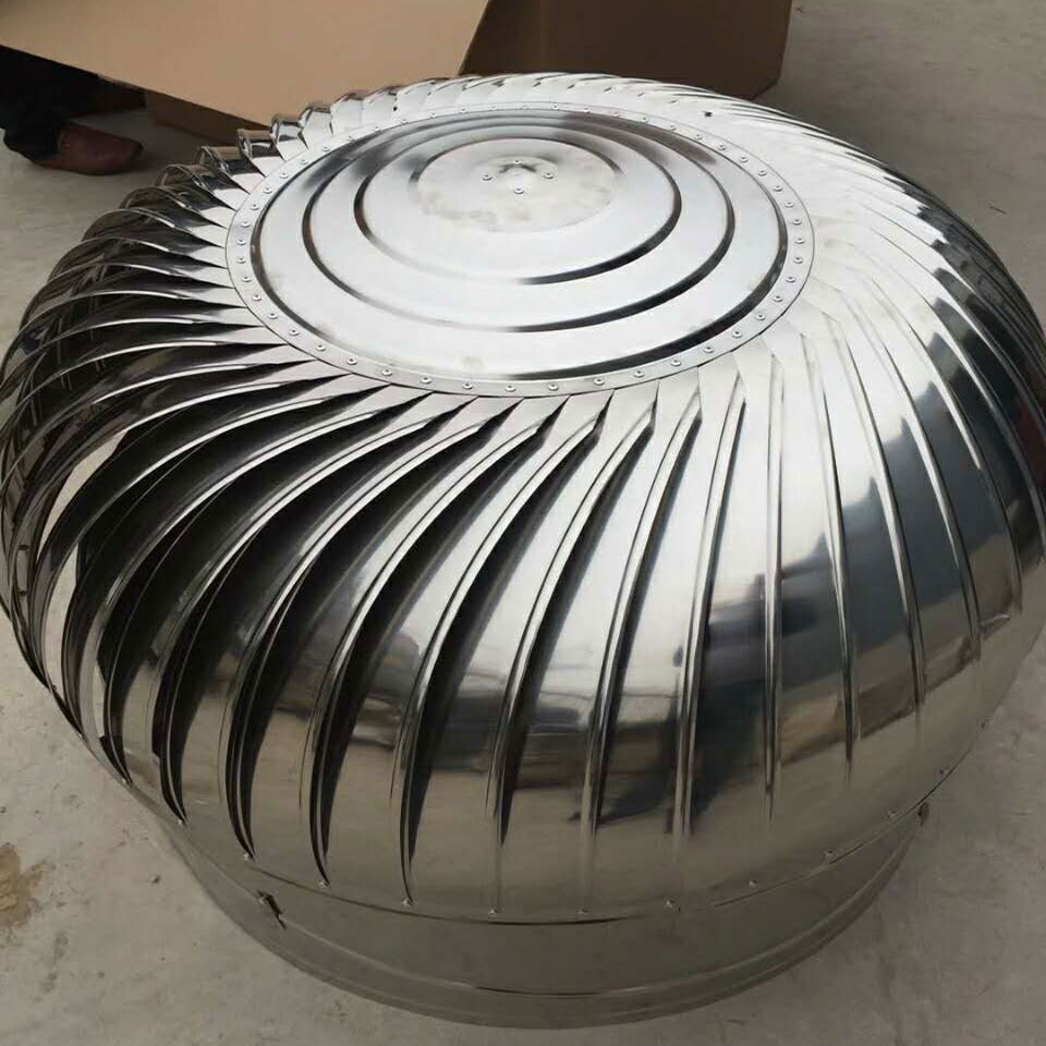 Rvs Wind Aangedreven Turbine Lucht Ventilator, Geen Power Dak Turbo Fan Wind Turbine Ventilator Voor Magazijn