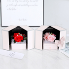 Soap Carving Valentine Day Wedding Gift With Box And Drawer Rose Soap Flower Gift