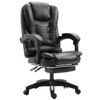 boss swivel revolving manager pu leather executive office chair/chair office