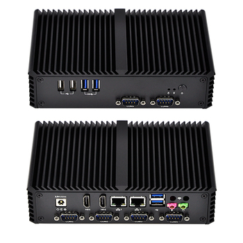 2019 High Quality Industrial Fanless Intel Celeron I3 I5 I7 12v Mini Vehicle Pc Computer