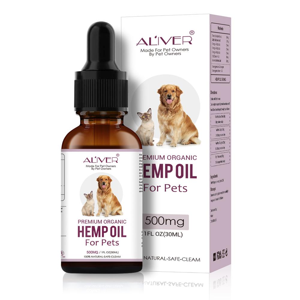 500mg Hohe Qualität CBD Hanf Öl Pet Für Hunde Und Katzen