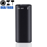 8GB Mini Digital Voice Recorder Hidden Spy Professional Dictaphone USB Flash Drive MP3 Music Player 3 in 1 Memory Storage