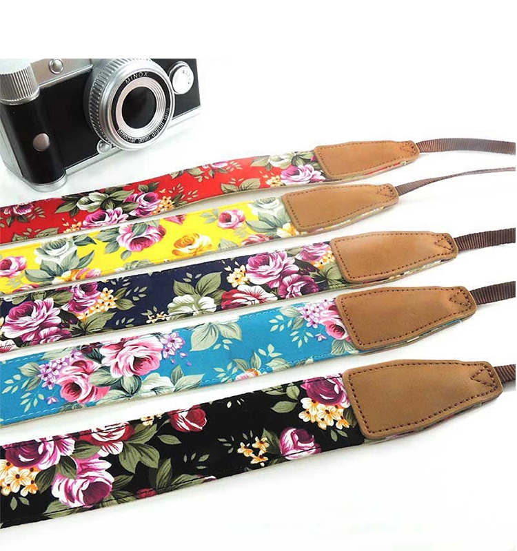 leather handmade camera neck strap, personalized camera strap