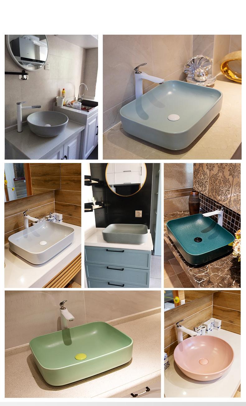 Small Bowl Shape Matt Color Ceramic Bathroom Sinks Art Design Round Countertop Fixing Basin Buy Round Countertop Fixing Basin Small Bowl Art Basin Matt Matte Ceramic Sink Product On Alibaba Com