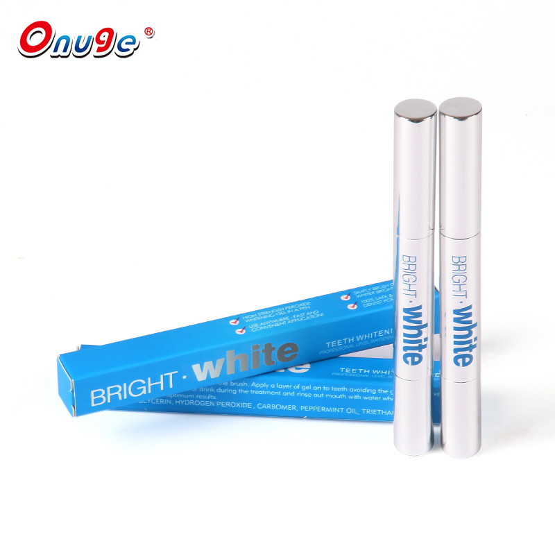 Gratis sample private label tooth pen, aluminumteeth whitening pen