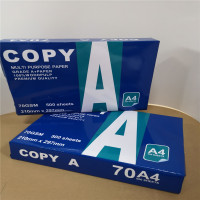 White A4 Size Copy Paper 80 gsm 70 gsm For Copiper Laser Printing