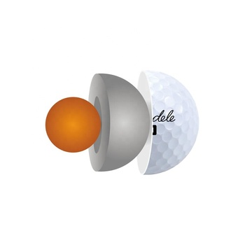 Factory OEM Custom Logo 2 3 4 5 Layer Urethane Tournament golf Ball / USGA Standard 3 Piece Soft Urethane Golf Ball With Package