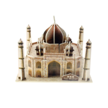 Land Mark <span class=keywords><strong>Taj</strong></span> <span class=keywords><strong>Mahal</strong></span> Kasteel Custom Hand Made 3D <span class=keywords><strong>Papier</strong></span> Puzzel Gebouw Model Puzzel