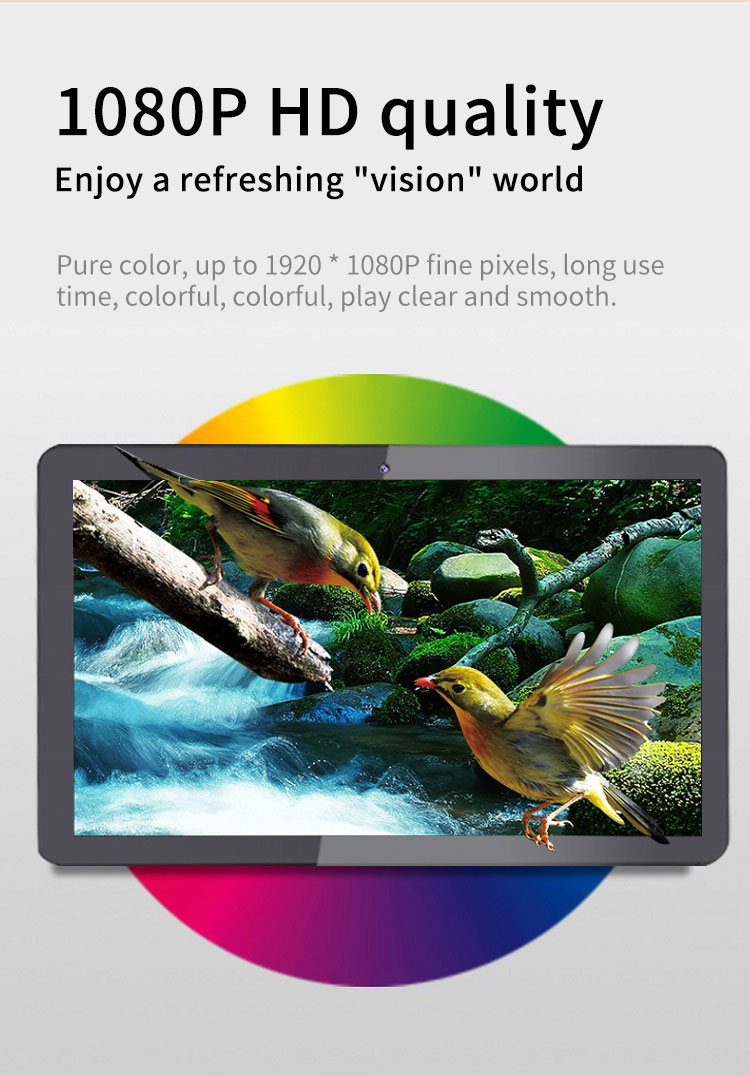 13.3 inch tablet 9.0 all in one pc android tablet kiosk met touch screen