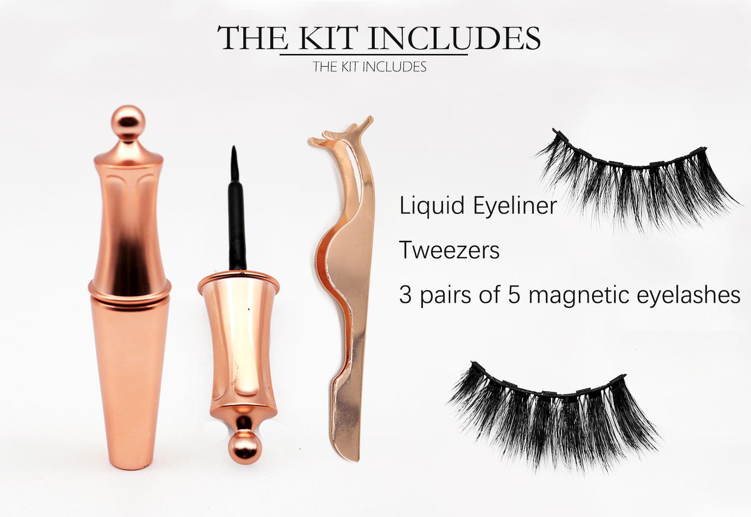 The best, most convenient and comfortable magnet eyelash set