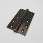 5 inch 304 stainless electrophoretic paint luxurious folding hinge for house