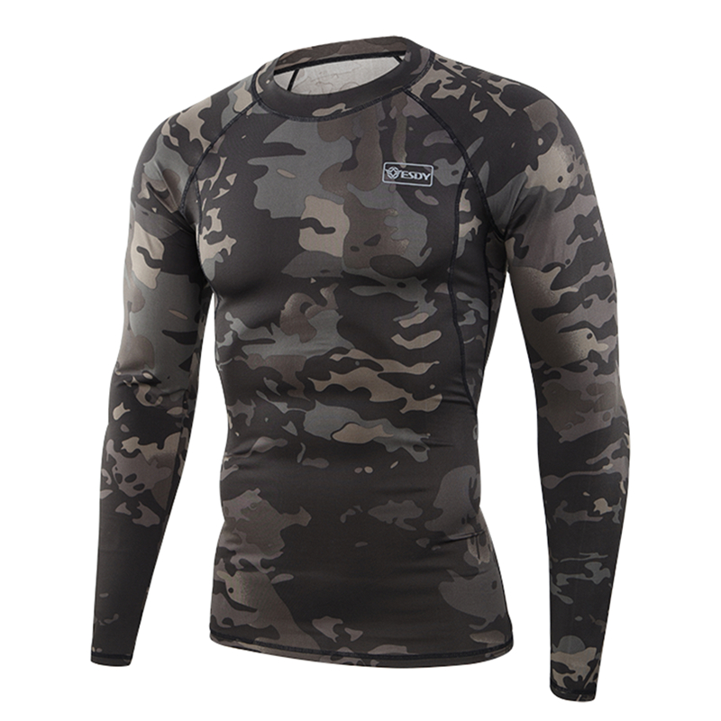 ESDY Army Warm Long Johns Outdoor Sports Fleece Military Tactical Thermal Underwear Sets