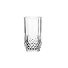 India Style 9oz high white clear glass tumbler water cup for whisky drinking