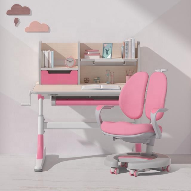 Igrow 어린이 책상 다목적 인체 공학적 어린이 연구 책상 어린이 책상 어린이 학습 의자 세트