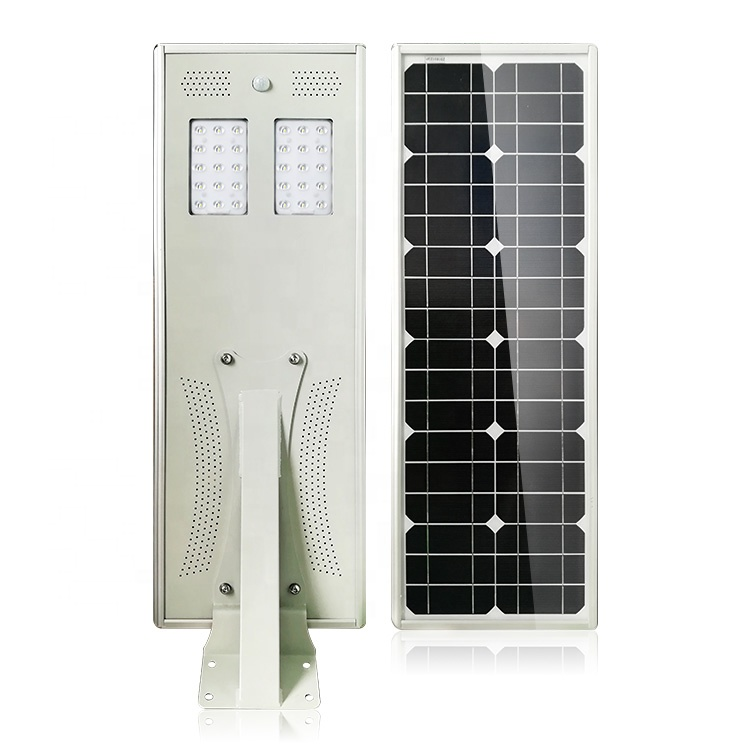 High lumens 30W Integrated all in one Solar Street Lights with Motion sensor