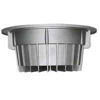 Die Cast Aluminum lighting fixture products For Led High Bay Light Housing Led Grill Light Housing Bulb Housing