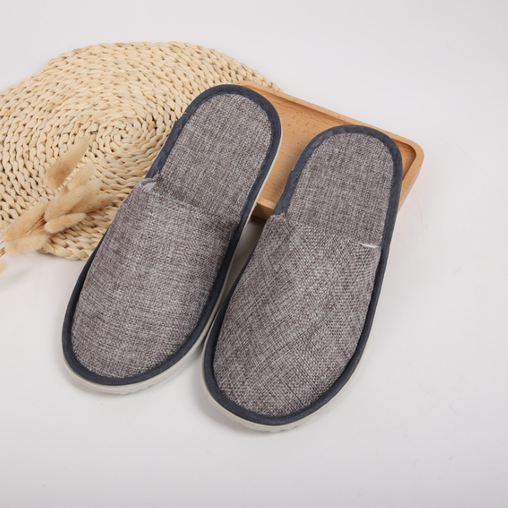 2020 hot selling 2020 hot selling personal disposable hotel slippers hotel bathroom slippers