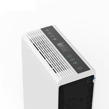 Olansi hot sale hotel air purifier tower with perfume function, updated high efficiency commercial/hospital