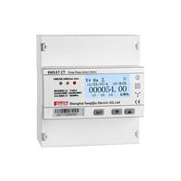 Internal switch power multifunctional power 3 phase digital kwh meter ethernet