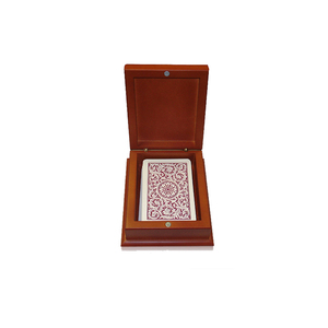 Custom Wooden Playing Card Gift Box Wholesale