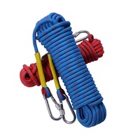 Outdoor Climbing Rope 10mm 12mm 14mm 16mm 18mm 20mm Static Rock Climbing Rope, Escape Rope Ice Climbing Equipment Fi