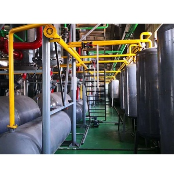 pyrolysis of plastic waste to liquid fuel oil plant