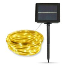Solar Flexible luces de tira de LED