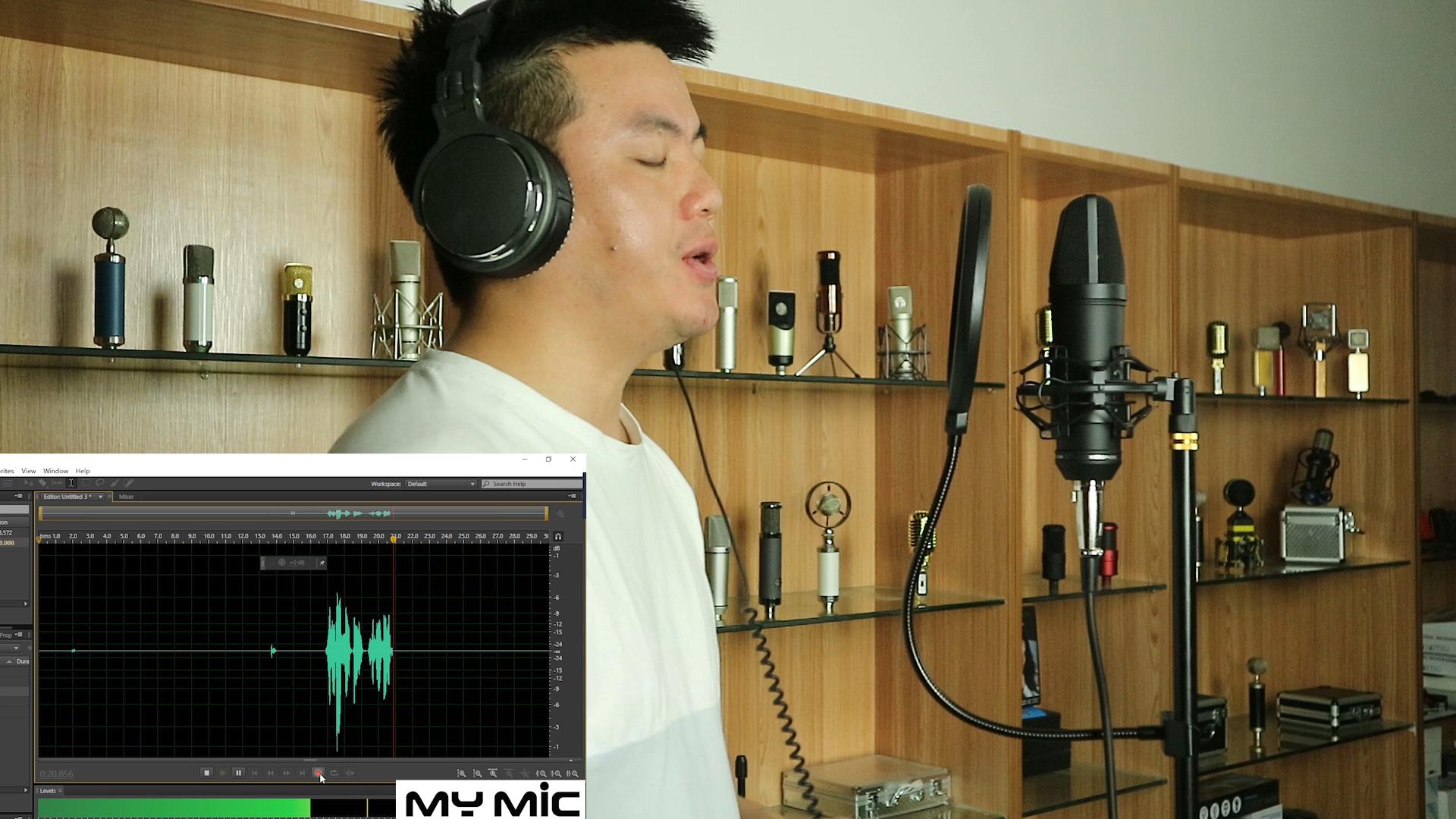 Của Tôi Mic Thiết Kế Mới U87B Chuyên Nghiệp Dây Condenser Hoành Lớn Studio Microphone Với XLR Cho Ghi Âm Ca Hát Phát Sóng