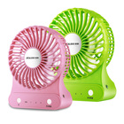 2019 new 5v Rechargeable portable 3 Speeds table mini usb fan